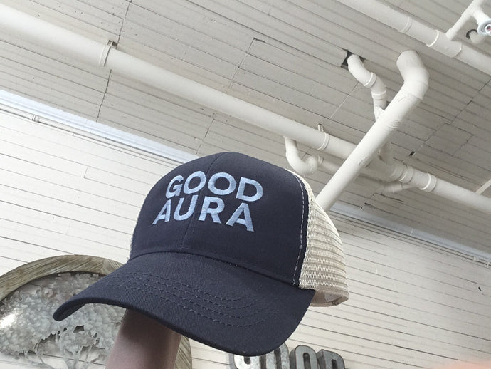 Good Aura Trucker Hat - Good Aura LLC