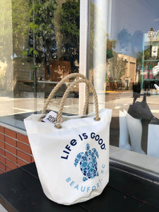 Life is Good Beaufort, SC tote