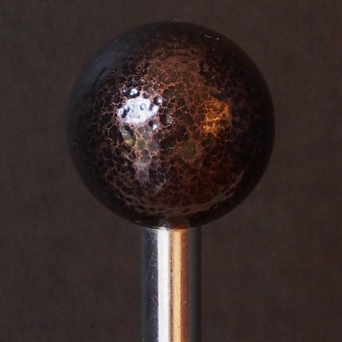 Pinball Shooter Rod - Hammered Bronze