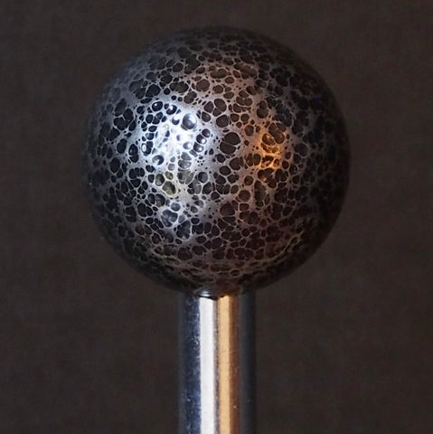 Pinball Shooter Rod - Hammered Steel