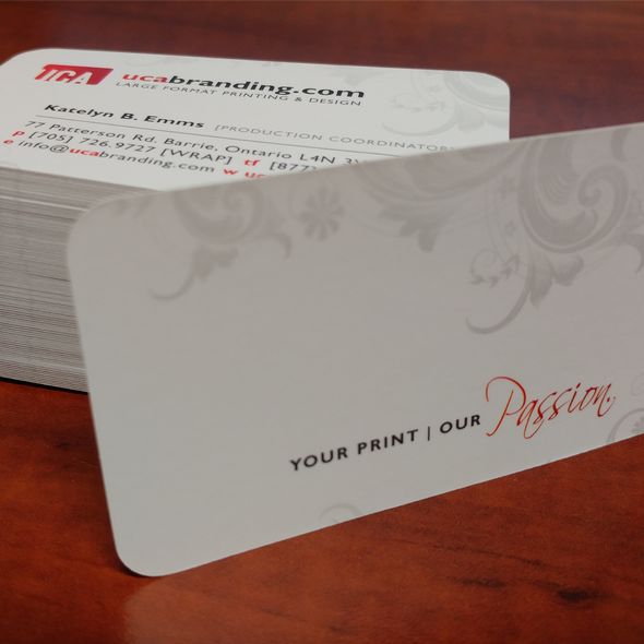 Business Cards [16 Point Cardstock]
