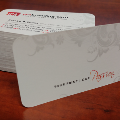 Business Cards [18 Point Cardstock]