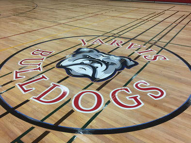 Gym-Floor Graphics