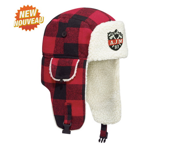 Lumberjack Bomber Hat with Earflaps (logo not included)
