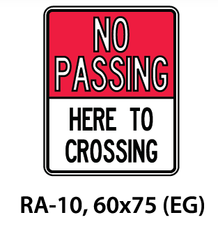 Regulatory Sign - RA-10