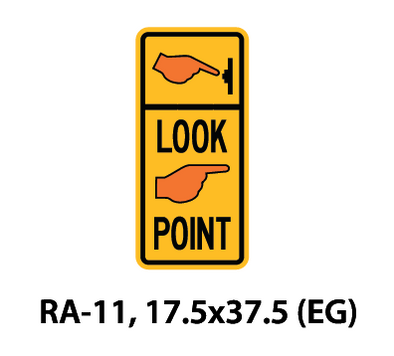 Regulatory Sign - RA-11