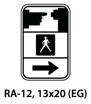 Regulatory Sign - RA-12
