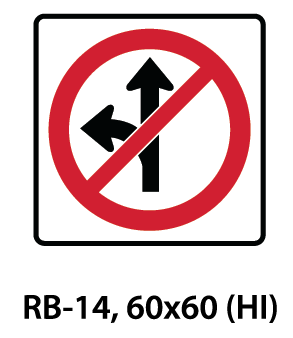 Regulatory Sign - RB-14