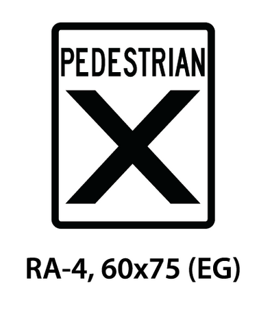 Regulatory Sign - RA-4