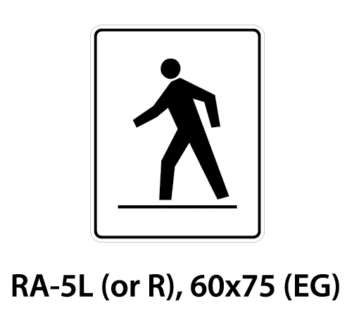 Regulatory Sign - RA-5L