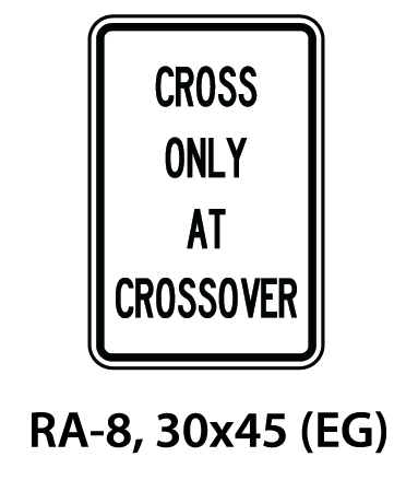 Regulatory Sign - RA-8