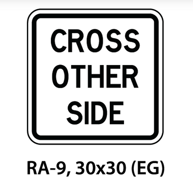 Regulatory Sign - RA-9