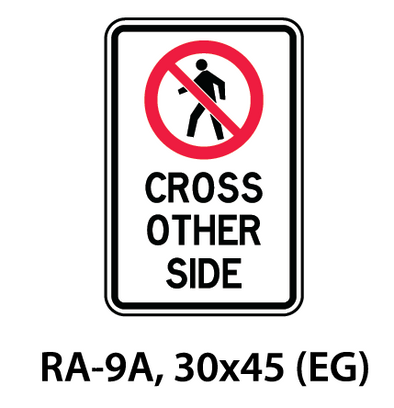 Regulatory Sign - RA-9A