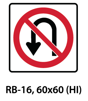 Regulatory Sign - RB-16