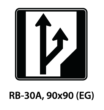 Regulatory Sign - RB-30A