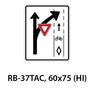Regulatory Sign - RB-37TAC