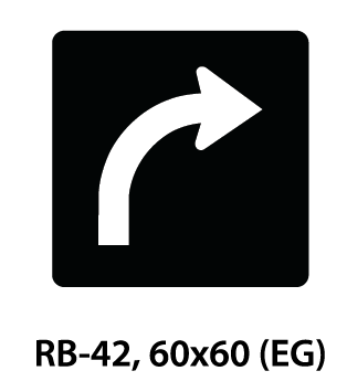 Regulatory Sign - RB-42
