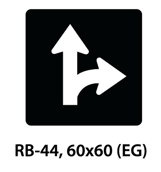 Regulatory Sign - RB-44