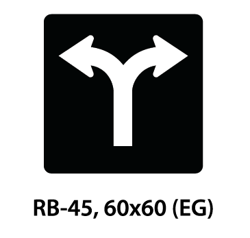 Regulatory Sign - RB-45