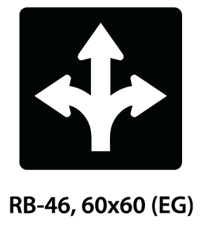 Regulatory Sign - RB-46