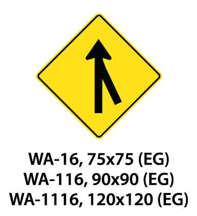Warning Sign - WA-16 / WA-116 / WA-1116