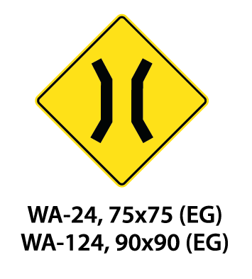 Warning Sign - WA-24 / WA-124