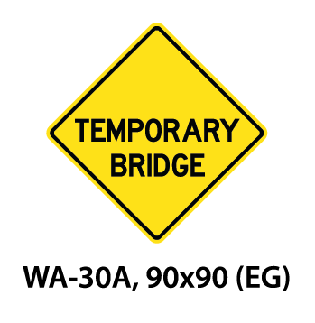 Warning Sign - WA-30A
