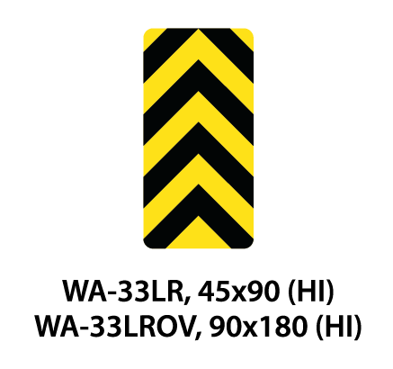 Warning Sign - WA-33LR /  WA-33LROV
