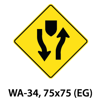 Warning Sign - WA-34