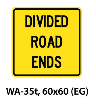 Warning Sign - WA-35t