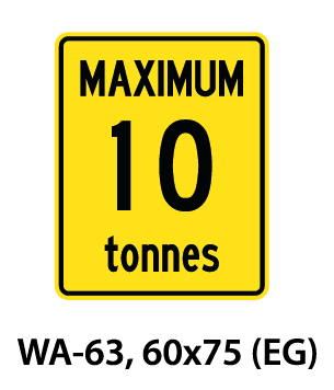 Warning Sign - WA-63