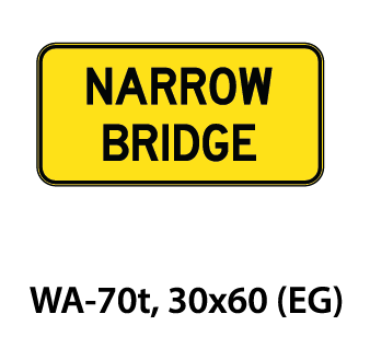 Warning Sign - WA-70t