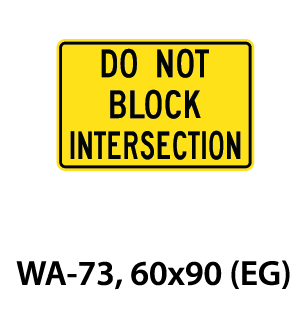 Warning Sign - WA-73