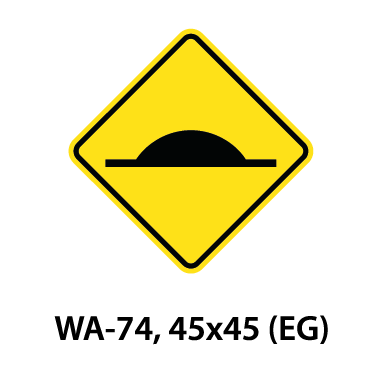 Warning Sign - WA-74