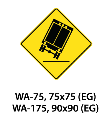 Warning Sign - WA-75 / WA-175