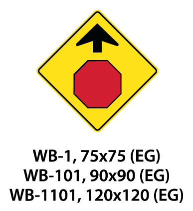 Warning Sign - WA-1 / WA-101 / WA-1101