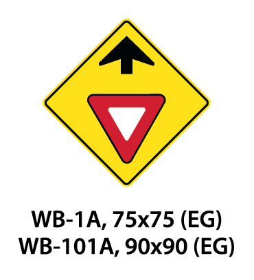 Warning Sign - WA-1A / WA-101A