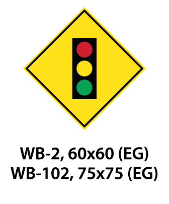 Warning Sign - WA-2 / WA-102