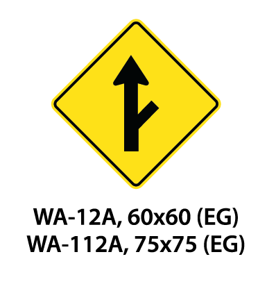 Warning Sign - WA-12A / WA-112A