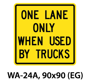 Warning Sign - WA-24A