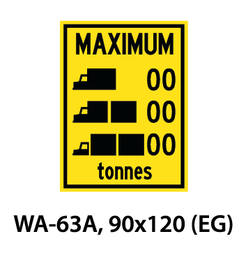 Warning Sign - WA-63A
