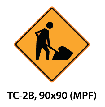 Temporary Conditions Sign - TC-2B