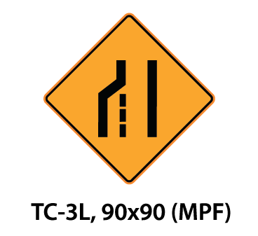 Temporary Conditions Sign - TC-3L
