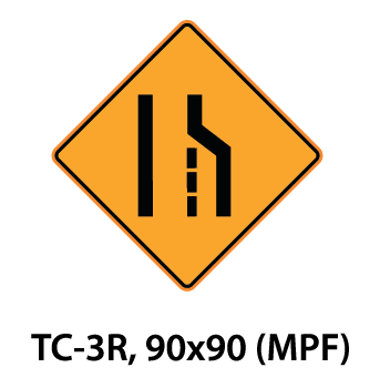 Temporary Conditions Sign - TC-3R