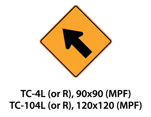 Temporary Conditions Sign - TC-4L