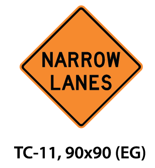 Temporary Conditions Sign - TC-11
