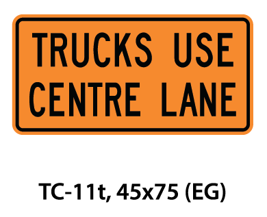 Temporary Conditions Sign - TC-11t