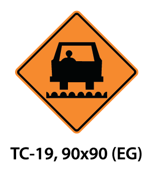 Temporary Conditions Sign - TC-19