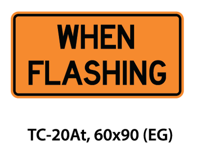 Temporary Conditions Sign - TC-20At
