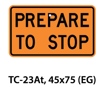 Temporary Conditions Sign - TC-23At